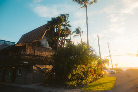 Welcome To Kohea Kai Hotel - building sunset